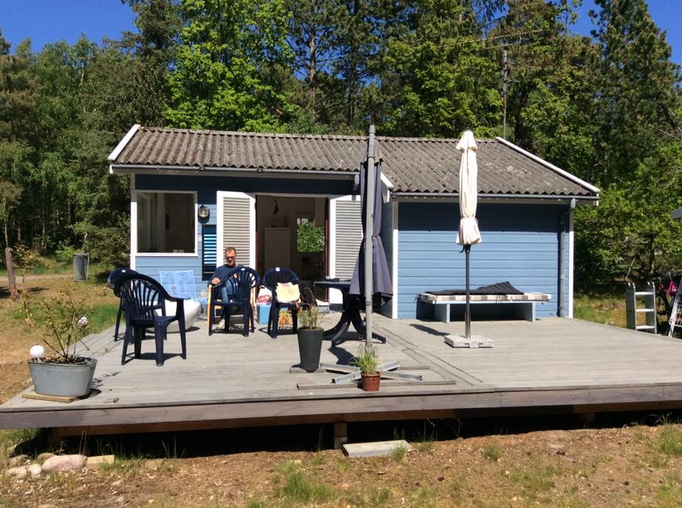 Klympen, Sommerhus på bornholm
